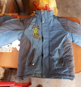 Куртка зимняя на 4-5 лет