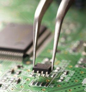 Широкий спектр про-х услуг по ремонту электроники