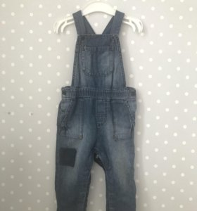 H&M джинсовый комбинезон