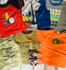 футболки на 3-4 и 4-5 лет