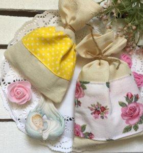 Ароматное мыло в мешочке