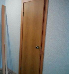 Двери межкомнатные с коробкой 60 и 80 см