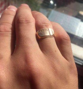 Золотое Кольцо-Печатка (585)