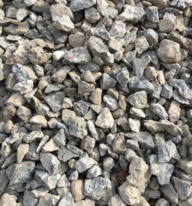 Вторичный бетон (щебень)