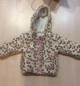 Мягкая куртка для девочки