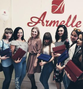 Бизнес - Клатч-папка с пробниками Armelle