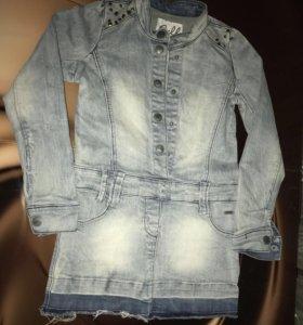Платье (4-8 лет)
