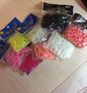 Резиночки для плетения разных цветов