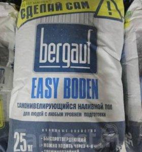 """Наливной пол """"Bergauf Easy Boden"""" - Самонивелир"""