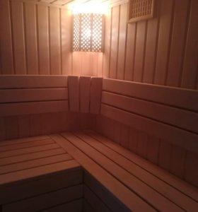 Строительство саун и отделка бань.