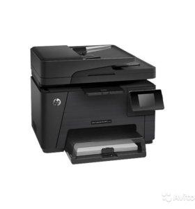 Цветное мфу HP LaserJet Pro M177fw