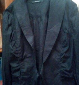 Черная блузка с запАхом, 40-42 VERO MODA