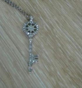 Кулон в виде ключа