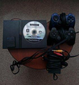 Игровая приставка Sony Playstation 2. +игра NFS:MW