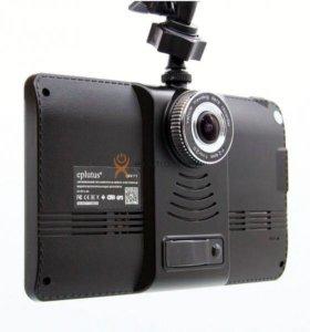 GPS навигатор регистратор Eplutus GR71 с радаром