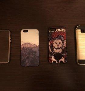 Чехлы для iPhone и Samsung