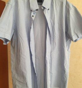 Новая летняя мужская рубашка Pierre Cardin