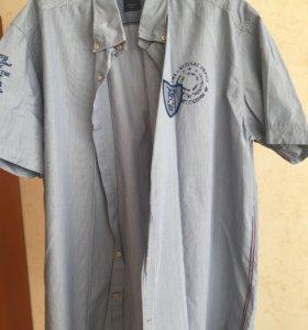 Новая мужская летняя рубашка Pierre Cardin
