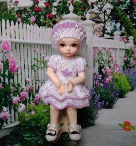 Кукла шарнирная 25 см новая