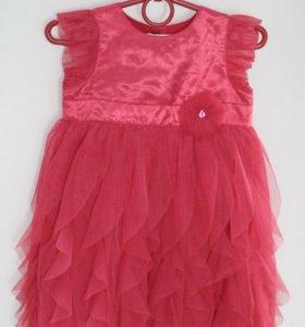 Платье праздничное. Пышное и длинное