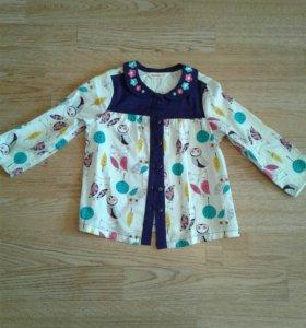 Блузка/рубашка новая для девочки