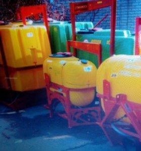 Опрыскиватель навесной Demarol 600 литровый