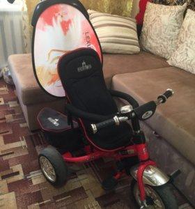 Велосипед детский Lexus Trike Next+самокат