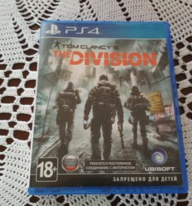 Tom Clancy,s THE Division ps4