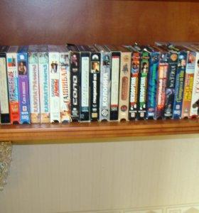 Видео кассеты 50 шт (все вместе)