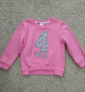 Новый пуловер Crockid 98