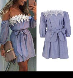Новое летнее платье мини