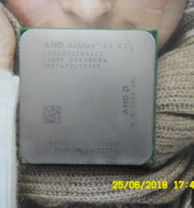 AMD Athlon 64x2 6000+,3.00GHz
