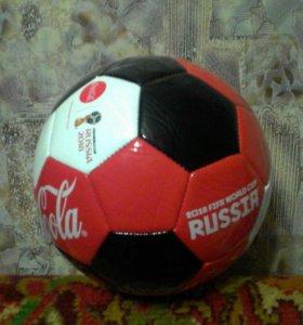 Футбольный мяч кока кола (coca cola) фифа 2018