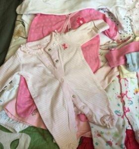 Одежда пакетом для девочки от нуля
