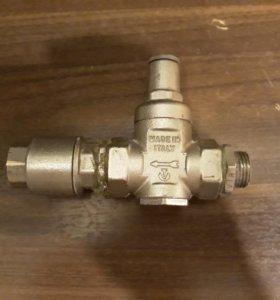 Редуктор давления Valtec 3/4+обратный клапан 1/2