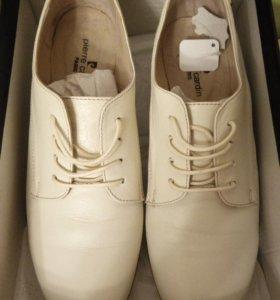 Женские ботиночки, 39 раз. Нат. Кожа.
