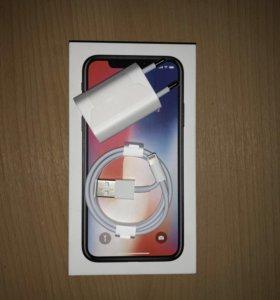 Оригинальная зарядка от iPhone Х.