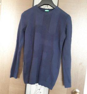 Школьный свитер на 12-13 лет benetton