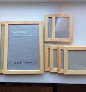 Рамки ИКЕА для картин и фото