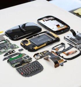 Ремонт телефонов, планшетов, ноутбуков, .