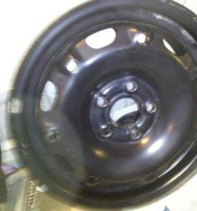 Новые диски VW поло