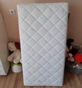 Матрас plitex в детскую кроватку