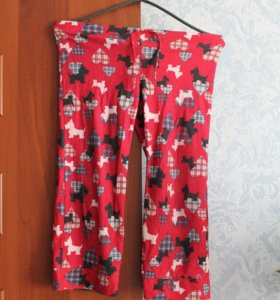 пижама(брюки),флис,на 7-8 лет