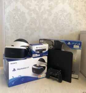 PlayStation 4 Slim + PlayStation VR