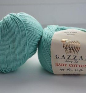 пряжа Gazzal baby cotton
