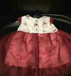 Детское платье 68