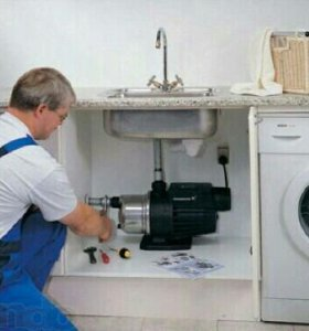 Работы сантехника