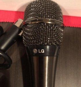 Микрофон для караоке LG