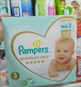 Pampers premium care 3 ДОСТАВКА БЕСПЛАТНО