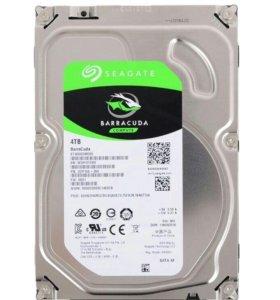 Новый жесткий диск SEAGATE BARRACUDA 4TB